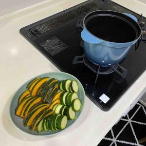 夏野菜の揚げ浸しと晩ごはん記録