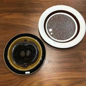 探してた北欧ヴィンテージのお皿を発見。北欧食器の食卓