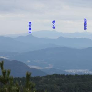 烏帽子岳中腹を散策および登頂