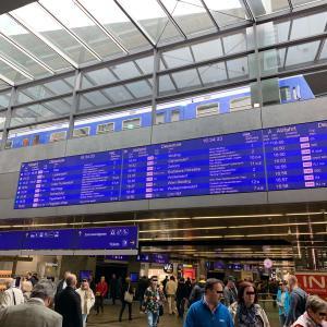 AS⑬ 巨大なウィーン中央駅を散策してみる!