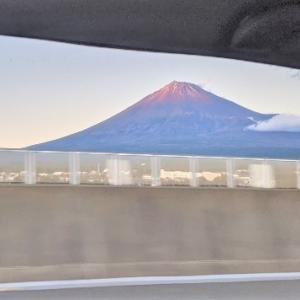 東山湖遠征帰路の車窓から