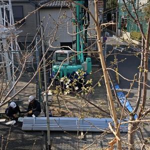 寿々木そば新店舗工事の進捗状況