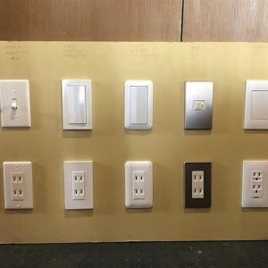 電気スイッチプレートの種類