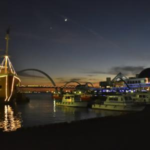 名古屋港ガーデンふ頭の夜景 その1