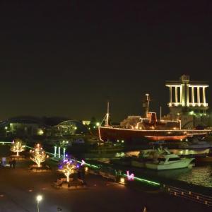 名古屋港ガーデンふ頭の夜景 その2