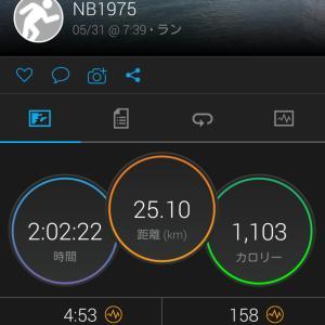 5/31(日) 週末ジョグ ガーミンコネクト→TATTA?