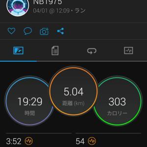 4/2(金) 最近のラン