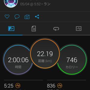 5/4(火) GW合宿5日目 旅ラン