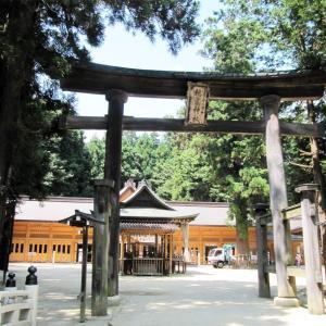 安曇野(2)穂高神社
