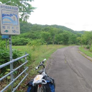 北海道編3振り返り(17)旭川までの自転車道路