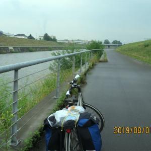 北海道編3振り返り(20)牛朱別川サイクリングロード