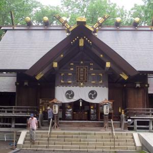北海道編3振り返り(21)旭川神社