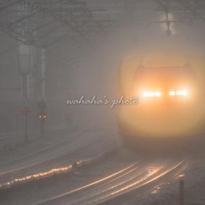 雨の西明石駅 ②