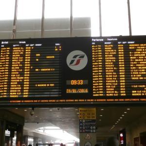 忘れ得ぬローマ・テルミニ駅の光景