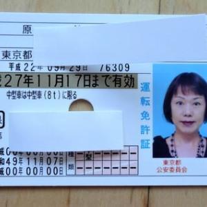 運転免許証、書換えるか返納するか迷う私