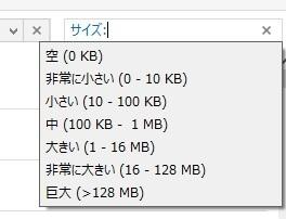 【Windows】サイズの大きいファイルを探す方法