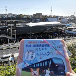 JR直通線開業日の相鉄フィーバーが凄すぎた!幼児連れの闘い記録