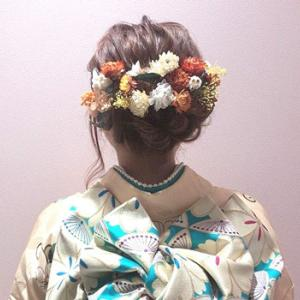 【振袖タイプ別オーダーメイドの髪飾りを作れるようになるレッスン】始めようと思います♪