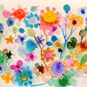カラー筆ペンで描くアートで広がる世界