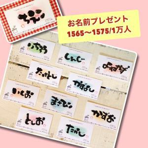 お名前を日本中の人に届けたい!