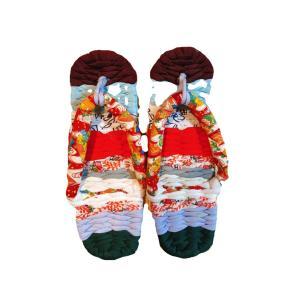 外反母趾の足に【かわいい草履】
