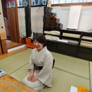 美智子さまもお召しになられた松寿苑の着物