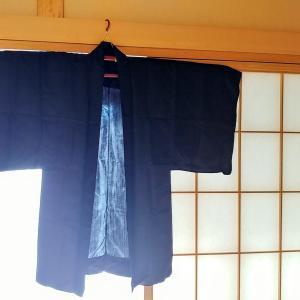 戦前の仙台平で作られた羽織