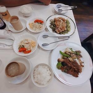 久しぶりの外食です「広東李」