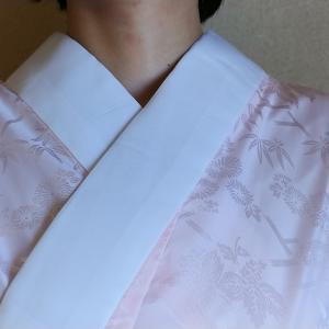 長襦袢の衿の角度