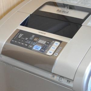 今度は洗濯機
