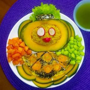 盛り付けはお皿に絵を描くように♡季節の野菜で和ごはん♡