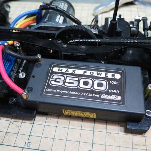 【BeaT】ショートLi-Poバッテリー仕様に最適化