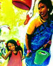 インドの英語絵本 Anushka Ravishankar & Emanuele Scanziani / To Market! To Market!