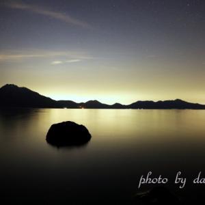 支笏湖夜色