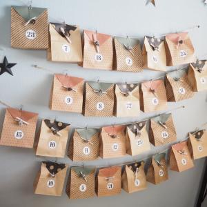 セリア材料で簡単に作れる!子供も喜ぶアドベントカレンダーの作り方レポ