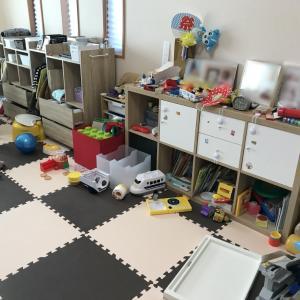 おもちゃ・子供服・書類などが散らかりがちなリビングを改善! 【整理収納コンサル事例】