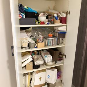 家族のモノが混在した収納棚やクローゼットを引っ越し前に整理!【整理収納コンサル事例】