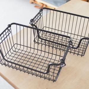 キッチンや洗面所で「見せる収納」に活躍!カインズ・積み重ねバスケットの活用アイデア