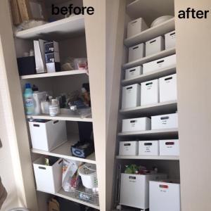 キッチンも納戸も洗面所もここまでスッキリ!オンラインレッスンBeforeAfter事例