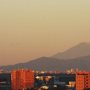 台風一過   遠富士