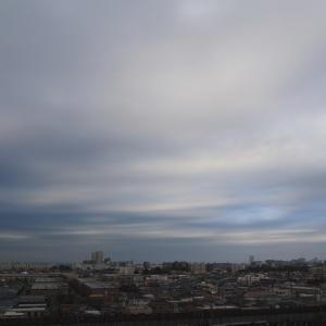 不透明雲(層積雲)