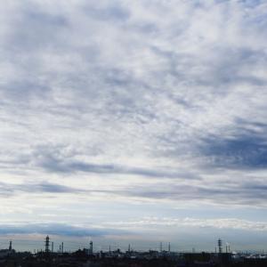 不透明雲(高積雲)