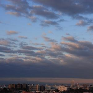 高積雲と積雲