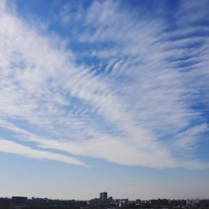 波状雲(巻積雲)