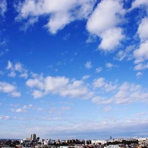 積雲の群れ