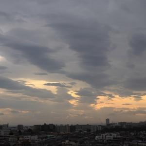 波状雲(層積雲)