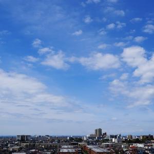 断片雲(積雲)