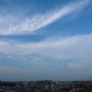 濃密雲(巻雲)