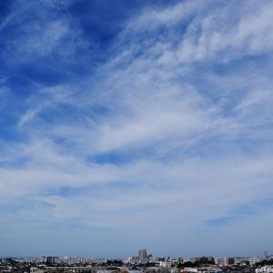 尾流雲(高積雲)