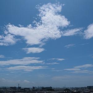 レンズ雲(巻積雲)